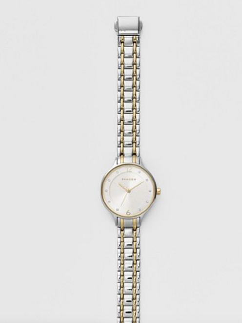 SKAGEN Anita Two-Tone Steel-Link Watch