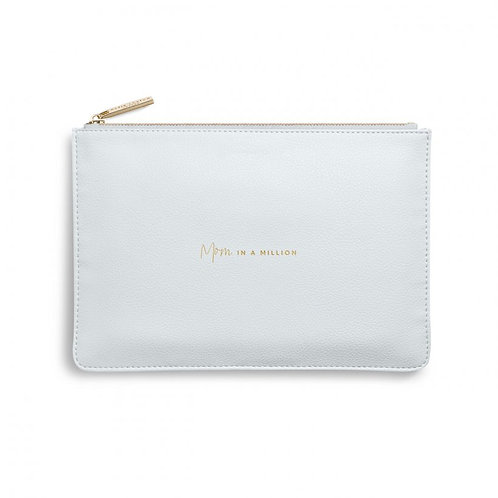 Kaite Loxton Perfect Pouch | Mom In A Million | Gray