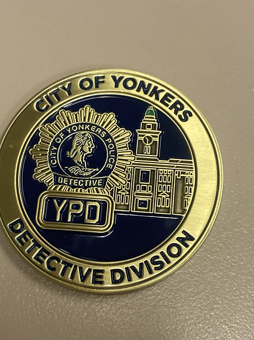 "1.75"" YPD Detective Division -Major Case Squad"