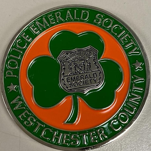 Police Emerald Society of Westchester County Challenge Coin