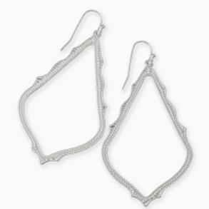 Kendra Scott - Sophia Drop Earrings in Silver