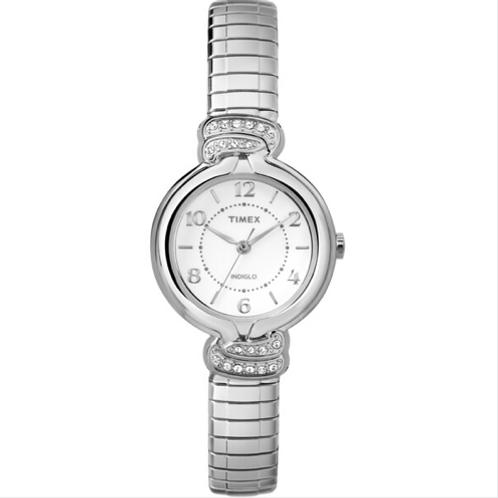 Timex Women's Anna Avenue Silver-Tone Watch