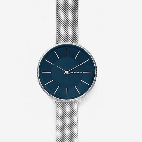 SKAGEN Karolina Silk-Mesh Watch