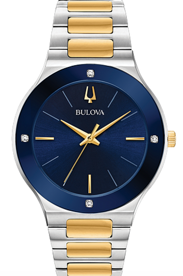 Bulova Men's Millennia Two Tone Watch