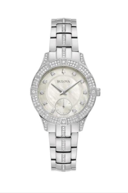 Bulova Women's Phantom Crystal Accent Watch