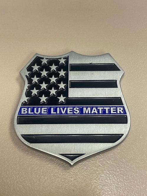 Blue Lives Matter Challenge Coin