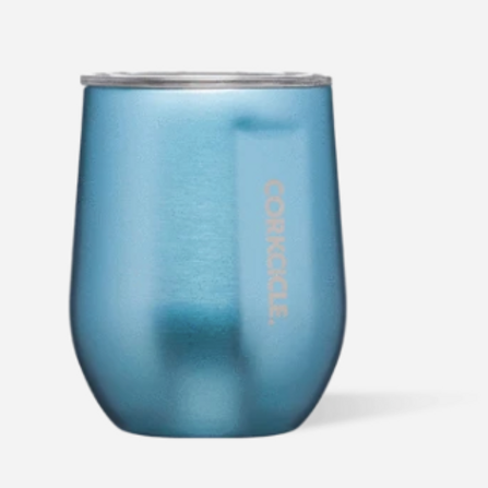 Corkcicle 12oz Metallic Stemless Cup - Moonstone