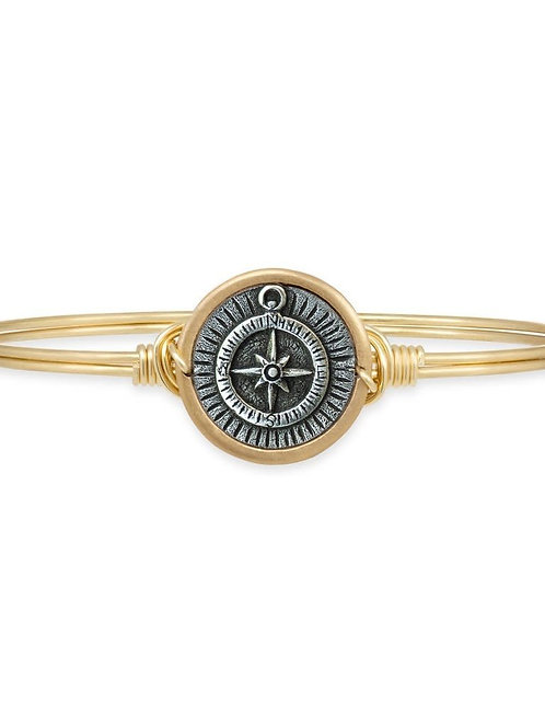 LUCA & DANNI  COMPASS BANGLE BRACELET - REGULAR