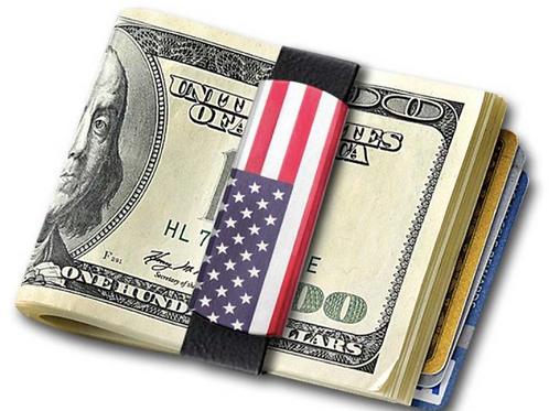 Grandband USA FLAG MONEY BAND