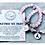 Thumbnail: T.Jazelle Rose Quartz Stone Bracelet  Together We Fight Sterling Silver Charm