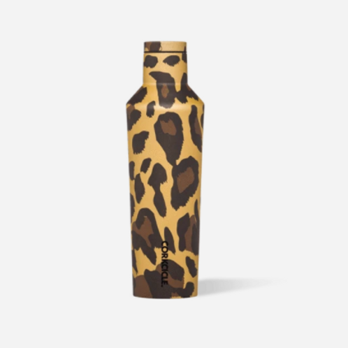Corkcicle 16oz Luxe Leopard Canteen