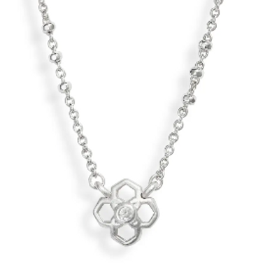 Kendra Scott - Rue Pendant Necklace In Silver