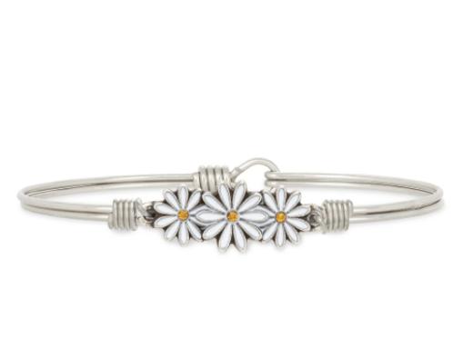 Luca & Danni Daises Bangle Bracelet - Petite