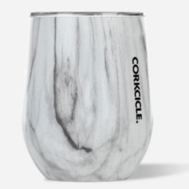 Corkcicle 12oz Origins Stemless Cup - Snowdrift