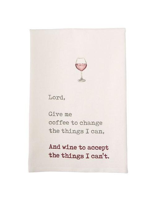 MudPie Lord Wine Dish  Towel