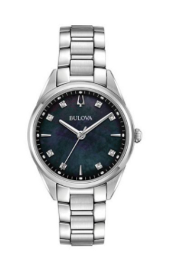 Bulova Women's Sutton Diamond Stainless Steel Watch