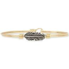 LUCA & DANNI MINI LUCKY FEATHER BRACELET - REGULAR