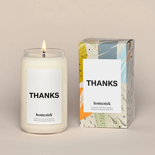 Homesick Thank You Candle