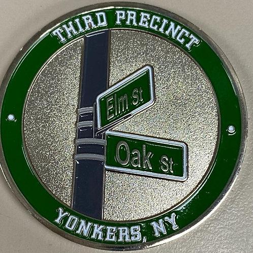 Yonkers Third Precinct Challenge Coin