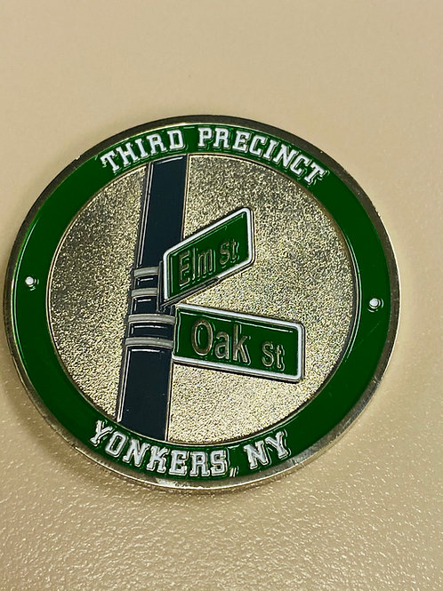 "1.75"" YPD 3rd Precinct Challenge Coin"