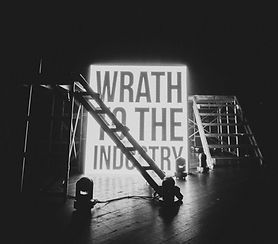 Neon Sign on Stage