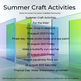 Summer Craft Activities 🕵️♂️For the Kidz!
