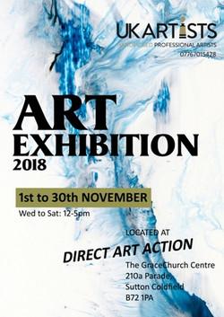UK Artists Ltd. Art Exhibition 2018