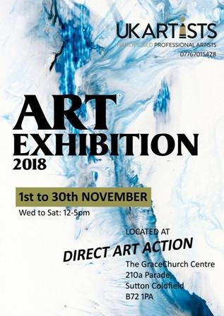 UK Artists Exhibition 2018