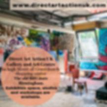 Direct Art Action UK Studios and exhibit