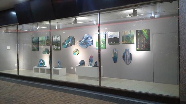 Andrea Shearing and Jerry Shearing at Direct Art Action UK