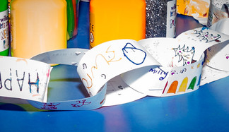 Sutton Coldfield Gallery Opens Community Art Cafe and They Need Your Paper Chain Skills.