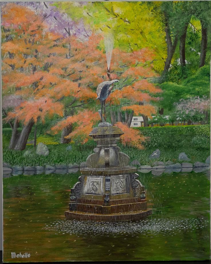 Japan Garden scene, Graham