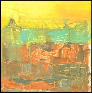 Michael Winitsky,Jerusalem landscape