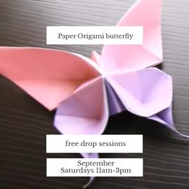Origami Butterfly / September