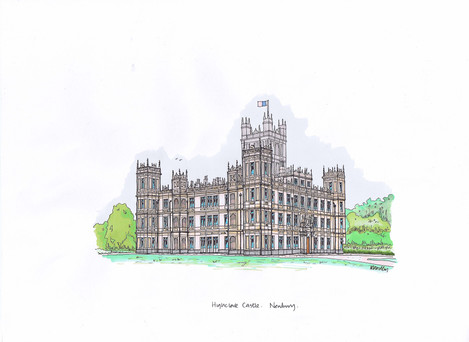 Ian Woodley, Highclere castle, (Downton Abbey)