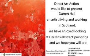 Showcasing the work of Scottish Artist Darren Hall