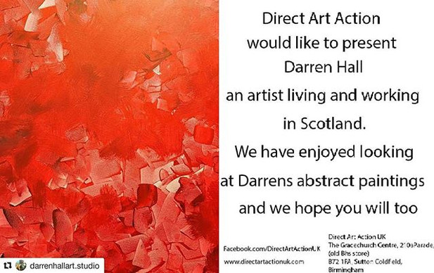 Showcasing the work of Scottish Artist Darren Hall