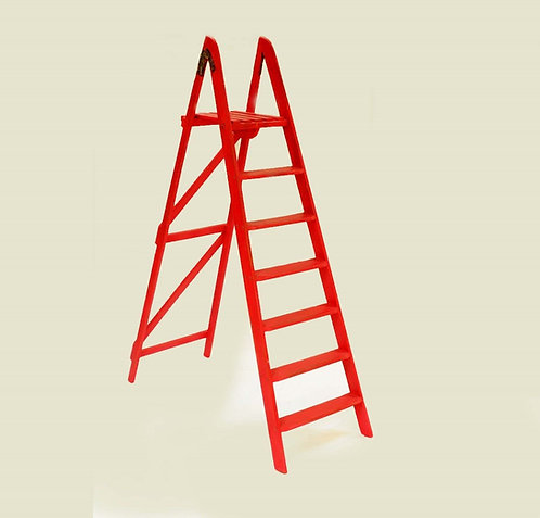 Decorative wooden ladders