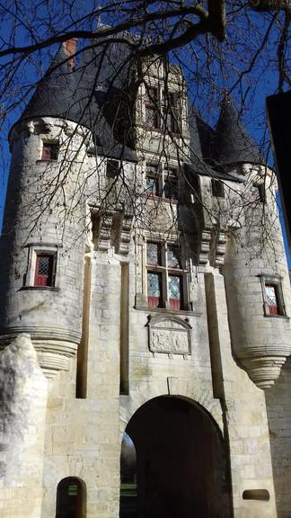 Chef Boutonne. Poitou-Charentes region, France.