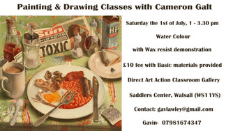 Painting & Drawing Classes with Cameron Galt