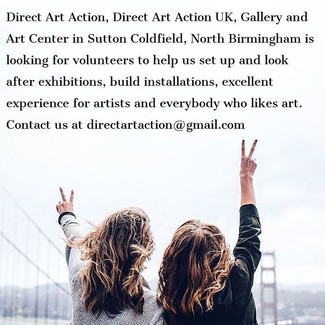Become a Volunteer at our Gallery