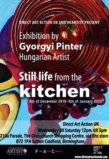 Exhibition of Gyorgyi Pinter at Direct Art Action UK