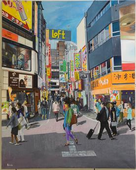 Japan street Scene, Graham