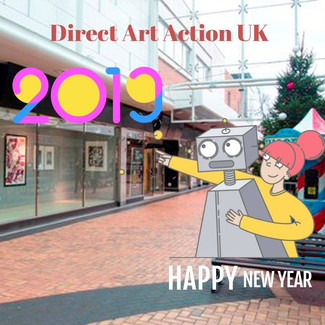 Happy New Year from Direct Art Action UK 🎄