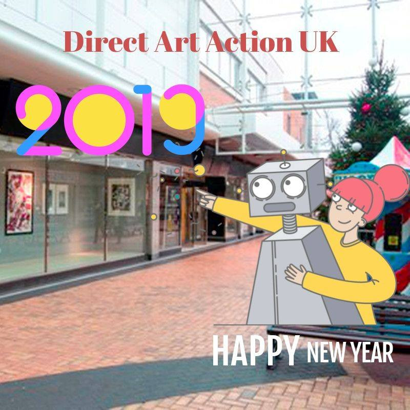 🎄 Happy New Year from Direct Art Action UK