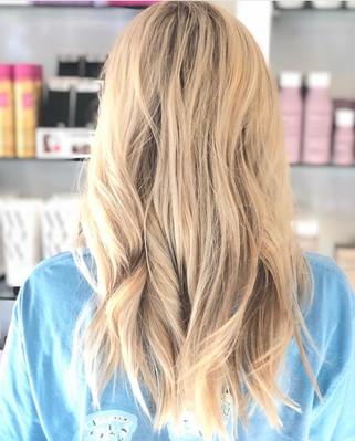 Bright Blonde Foilayage