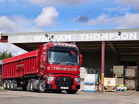 Animal Feed Bulk Trailer Lorry
