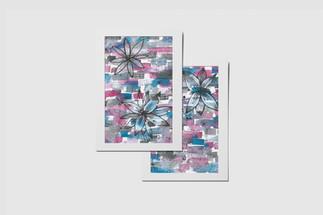 Proljeće - Ilustracija razglednice