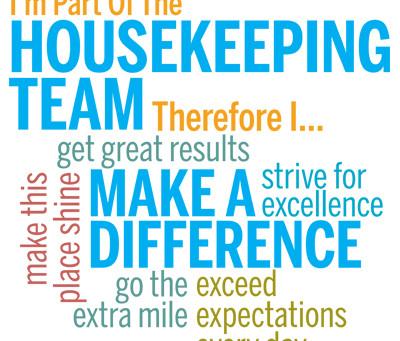 Housekeeping Appreciation Week 2020