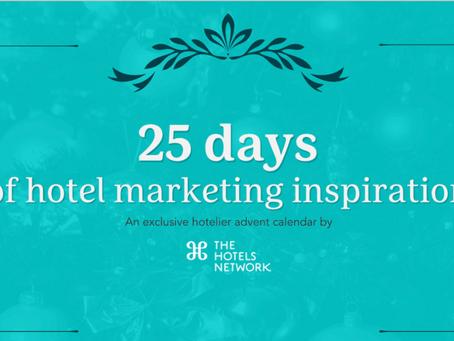 25 days of hotel marketing inspirations